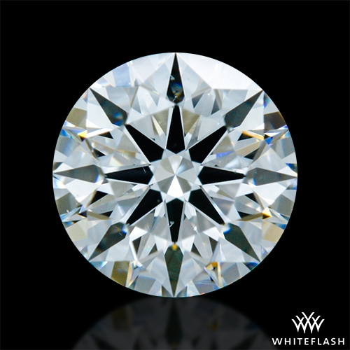 0.768 ct G SI1 A CUT ABOVE® Hearts and Arrows Super Ideal Round Cut Loose Diamond