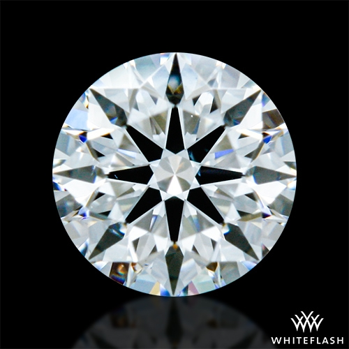0.328 ct F VS2 A CUT ABOVE® Hearts and Arrows Super Ideal Round Cut Loose Diamond