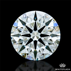 0.353 ct H VS2 A CUT ABOVE® Hearts and Arrows Super Ideal Round Cut Loose Diamond