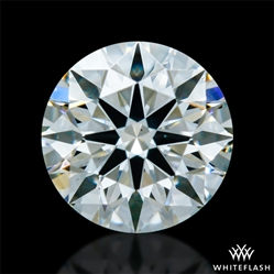 0.298 ct I SI1 A CUT ABOVE® Hearts and Arrows Super Ideal Round Cut Loose Diamond