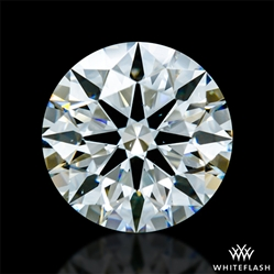 1.381 ct H VS2 A CUT ABOVE® Hearts and Arrows Super Ideal Round Cut Loose Diamond