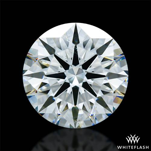 2.933 ct I SI1 A CUT ABOVE® Hearts and Arrows Super Ideal Round Cut Loose Diamond