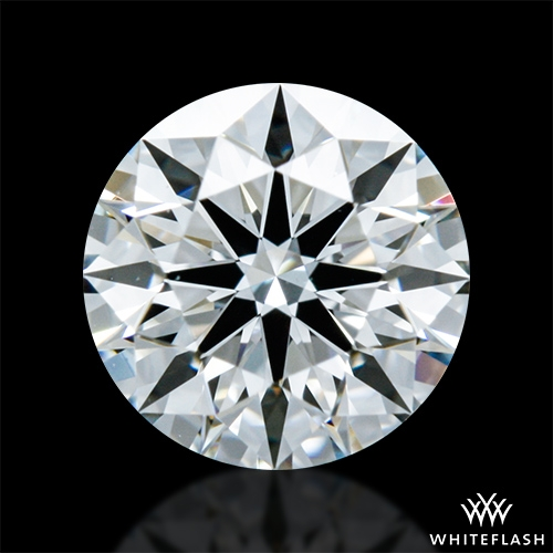 0.626 ct G VS1 A CUT ABOVE® Hearts and Arrows Super Ideal Round Cut Loose Diamond