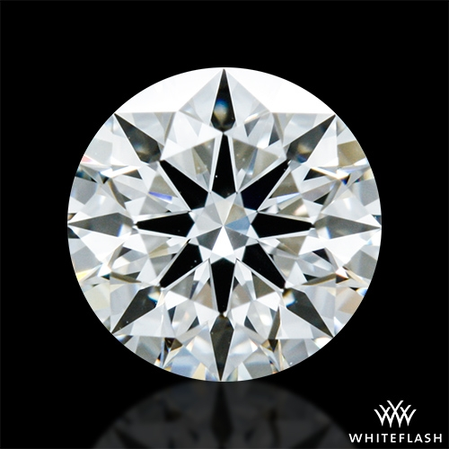 0.638 ct I VS1 A CUT ABOVE® Hearts and Arrows Super Ideal Round Cut Loose Diamond