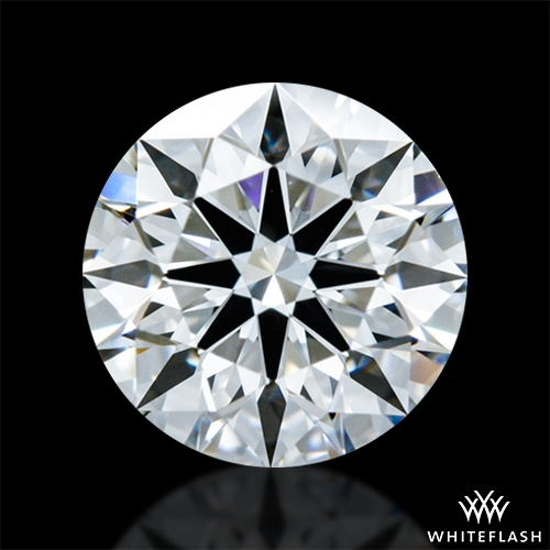 0.815 ct D VVS1 A CUT ABOVE® Hearts and Arrows Super Ideal Round Cut Loose Diamond