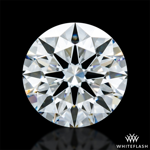 0.803 ct E VVS1 A CUT ABOVE® Hearts and Arrows Super Ideal Round Cut Loose Diamond