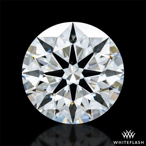 0.816 ct F VS1 A CUT ABOVE® Hearts and Arrows Super Ideal Round Cut Loose Diamond