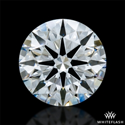 0.81 ct F VS1 A CUT ABOVE® Hearts and Arrows Super Ideal Round Cut Loose Diamond