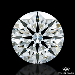 0.891 ct G VS2 A CUT ABOVE® Hearts and Arrows Super Ideal Round Cut Loose Diamond