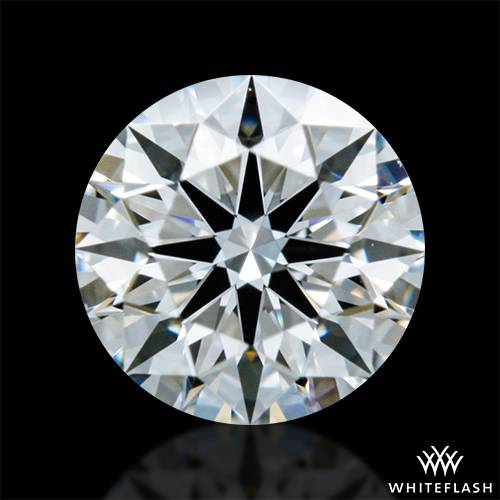 0.315 ct F VS1 A CUT ABOVE® Hearts and Arrows Super Ideal Round Cut Loose Diamond