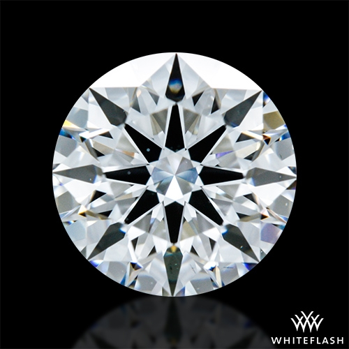 0.904 ct D VS2 A CUT ABOVE® Hearts and Arrows Super Ideal Round Cut Loose Diamond