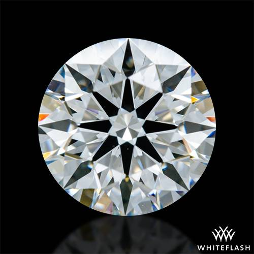 0.928 ct G VS2 A CUT ABOVE® Hearts and Arrows Super Ideal Round Cut Loose Diamond