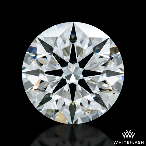 0.901 ct H SI1 A CUT ABOVE® Hearts and Arrows Super Ideal Round Cut Loose Diamond