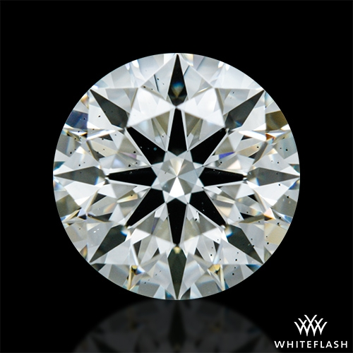 0.914 ct I VS2 A CUT ABOVE® Hearts and Arrows Super Ideal Round Cut Loose Diamond