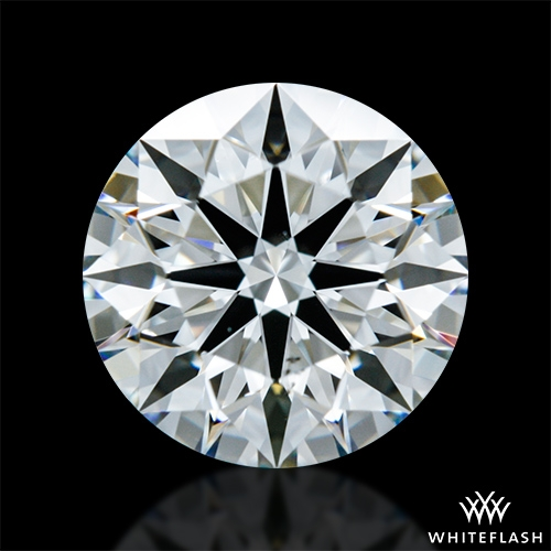 1.01 ct G VS2 A CUT ABOVE® Hearts and Arrows Super Ideal Round Cut Loose Diamond