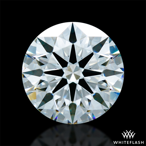1.42 ct F VS1 A CUT ABOVE® Hearts and Arrows Super Ideal Round Cut Loose Diamond