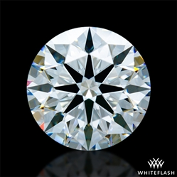 1.353 ct F VS2 A CUT ABOVE® Hearts and Arrows Super Ideal Round Cut Loose Diamond