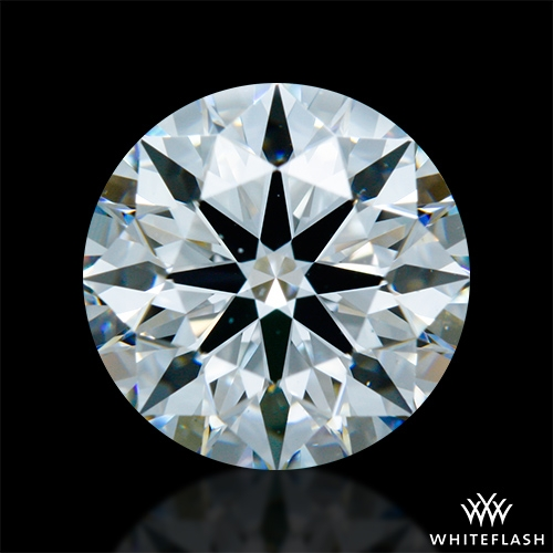 1.331 ct F VS2 A CUT ABOVE® Hearts and Arrows Super Ideal Round Cut Loose Diamond