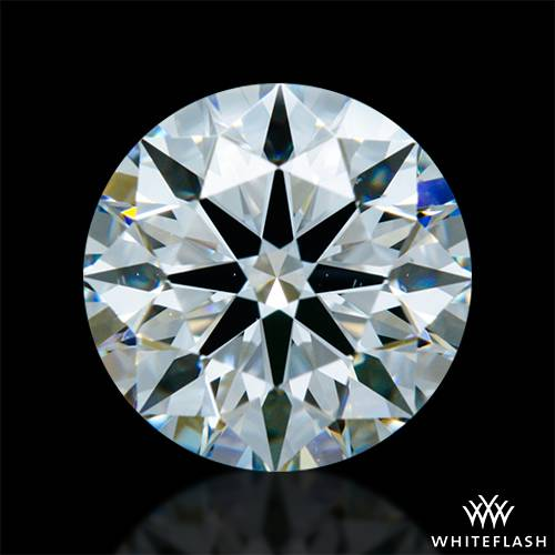 1.23 ct F VS2 A CUT ABOVE® Hearts and Arrows Super Ideal Round Cut Loose Diamond