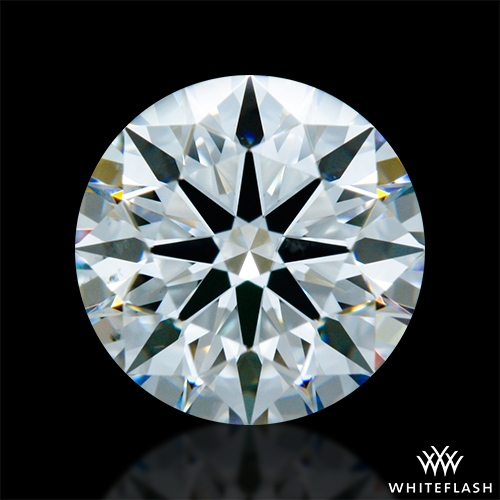 1.231 ct G VS2 A CUT ABOVE® Hearts and Arrows Super Ideal Round Cut Loose Diamond
