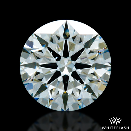 0.686 ct K SI1 A CUT ABOVE® Hearts and Arrows Super Ideal Round Cut Loose Diamond