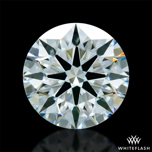 0.642 ct I VS1 A CUT ABOVE® Hearts and Arrows Super Ideal Round Cut Loose Diamond