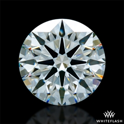 0.631 ct I VS1 A CUT ABOVE® Hearts and Arrows Super Ideal Round Cut Loose Diamond