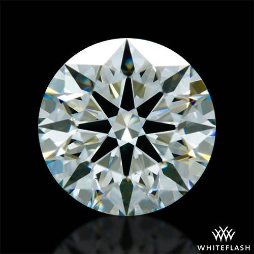 0.693 ct K VS2 A CUT ABOVE® Hearts and Arrows Super Ideal Round Cut Loose Diamond