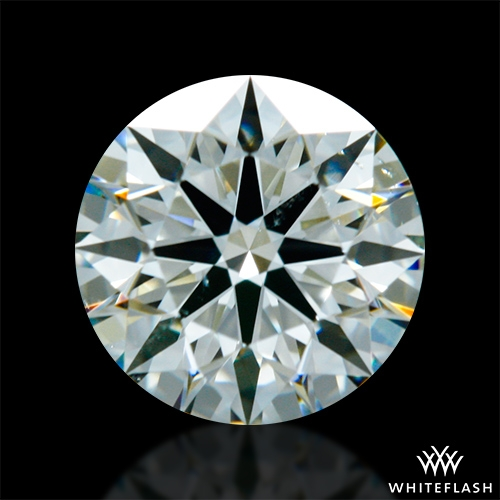 0.663 ct K SI1 A CUT ABOVE® Hearts and Arrows Super Ideal Round Cut Loose Diamond