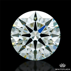 0.628 ct K VS2 A CUT ABOVE® Hearts and Arrows Super Ideal Round Cut Loose Diamond