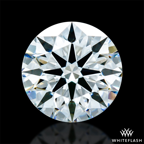 0.937 ct E VS1 A CUT ABOVE® Hearts and Arrows Super Ideal Round Cut Loose Diamond