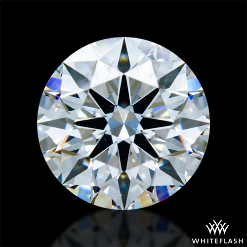 0.817 ct D VS2 A CUT ABOVE® Hearts and Arrows Super Ideal Round Cut Loose Diamond