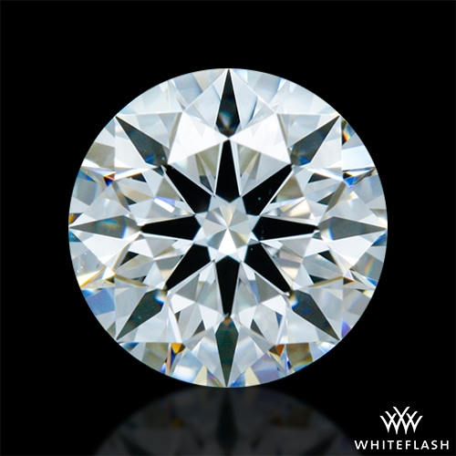 0.83 ct E VS1 A CUT ABOVE® Hearts and Arrows Super Ideal Round Cut Loose Diamond