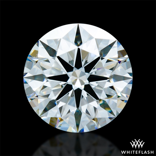 0.845 ct F VS2 A CUT ABOVE® Hearts and Arrows Super Ideal Round Cut Loose Diamond