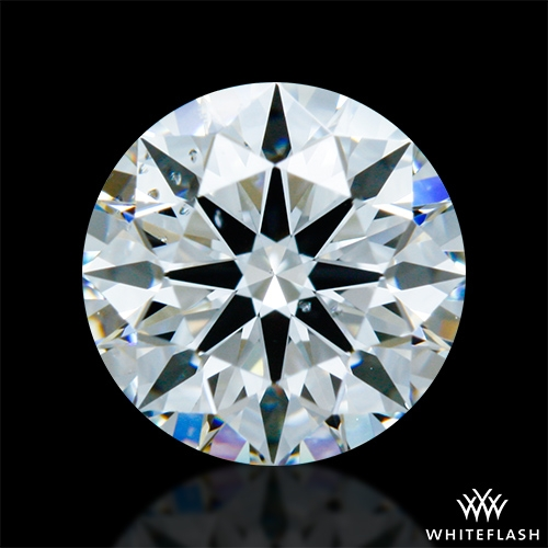 0.827 ct G SI1 A CUT ABOVE® Hearts and Arrows Super Ideal Round Cut Loose Diamond