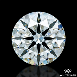 0.807 ct H VS2 A CUT ABOVE® Hearts and Arrows Super Ideal Round Cut Loose Diamond