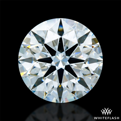 0.921 ct F VVS2 A CUT ABOVE® Hearts and Arrows Super Ideal Round Cut Loose Diamond