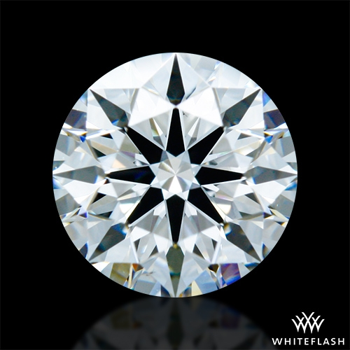 0.963 ct F VS2 A CUT ABOVE® Hearts and Arrows Super Ideal Round Cut Loose Diamond