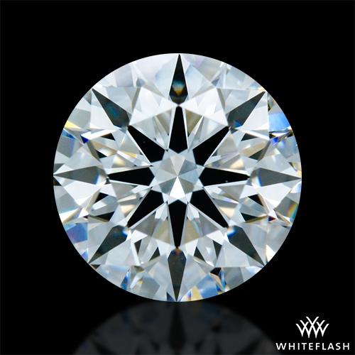 0.917 ct F VS1 A CUT ABOVE® Hearts and Arrows Super Ideal Round Cut Loose Diamond