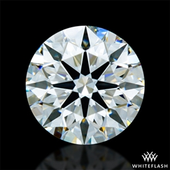 0.902 ct H VS2 A CUT ABOVE® Hearts and Arrows Super Ideal Round Cut Loose Diamond