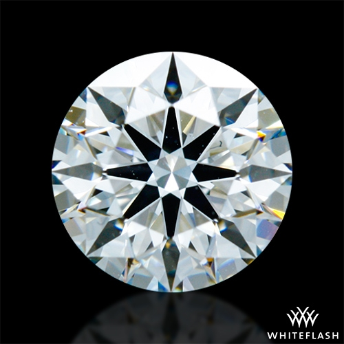 0.946 ct H VS2 A CUT ABOVE® Hearts and Arrows Super Ideal Round Cut Loose Diamond