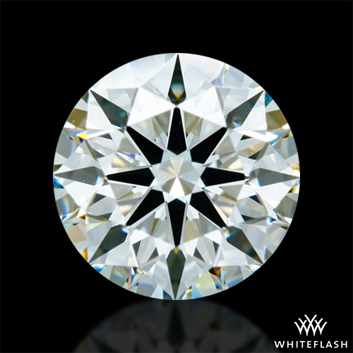 0.946 ct K VS2 A CUT ABOVE® Hearts and Arrows Super Ideal Round Cut Loose Diamond