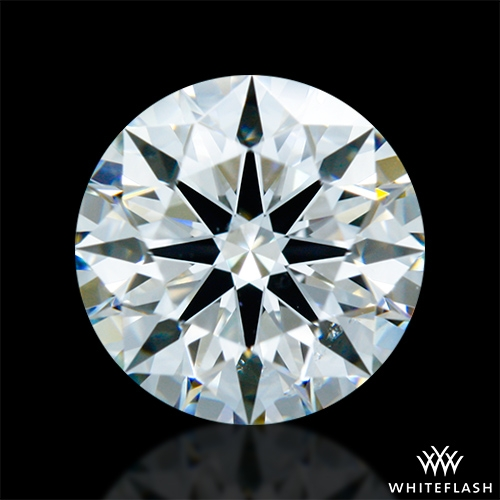 1.232 ct H VS2 A CUT ABOVE® Hearts and Arrows Super Ideal Round Cut Loose Diamond