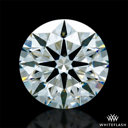 1.074 ct I VS1 A CUT ABOVE® Hearts and Arrows Super Ideal Round Cut Loose Diamond