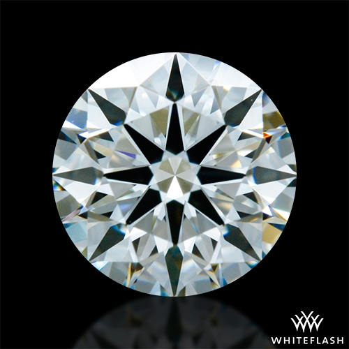 0.728 ct I VS1 A CUT ABOVE® Hearts and Arrows Super Ideal Round Cut Loose Diamond