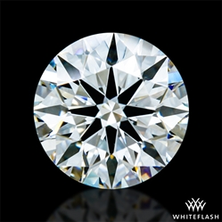 0.803 ct F VVS1 A CUT ABOVE® Hearts and Arrows Super Ideal Round Cut Loose Diamond