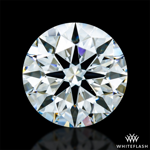 0.802 ct F VVS2 A CUT ABOVE® Hearts and Arrows Super Ideal Round Cut Loose Diamond
