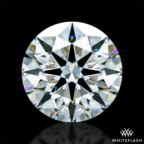 1.013 ct I SI1 A CUT ABOVE® Hearts and Arrows Super Ideal Round Cut Loose Diamond