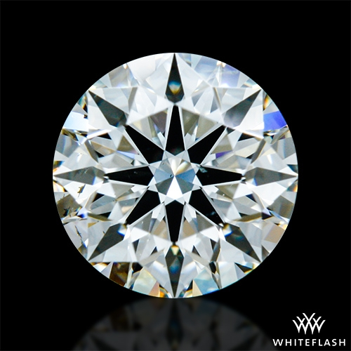 1.195 ct I SI1 A CUT ABOVE® Hearts and Arrows Super Ideal Round Cut Loose Diamond
