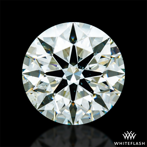 1.046 ct K SI1 A CUT ABOVE® Hearts and Arrows Super Ideal Round Cut Loose Diamond